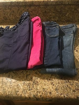4 pairs of girl jeans gymboree,children place, carter's size 66x