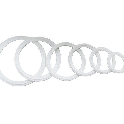 """HFS 6"""" Silicone Gasket Fits Sanitary Tri Clamp"""