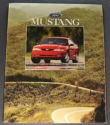 1996 Ford Mustang Catalog Sales Brochure GT Excellent Original 96