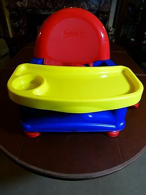 'Safety 1st' child seat, dining room table high chair. Used