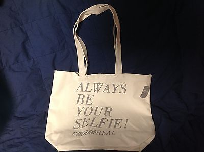 Aerie Canvas Tote Bag- Always Be Your Selfie! #aerieREAL