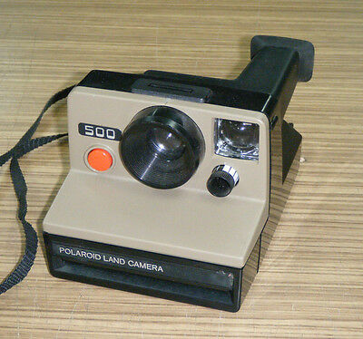 Vintage Instant Film Polaroid 500 Land Camera
