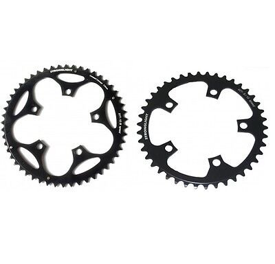 STRONGLIGHT DURAL 5083 BLACK 110BCD mm SHIMANO COMPACT CHAINRING   34T