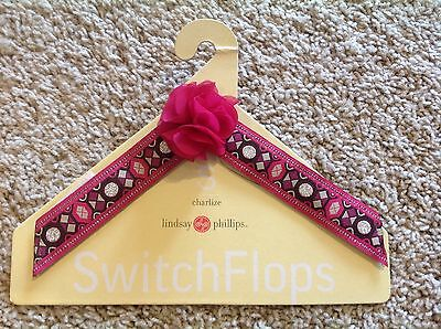 Lindsay Phillips Switchflops Straps - Charlize - Small - NWT