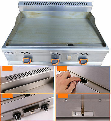 Countertop LP Gas Griddle - Flat Top Grill Kitchen Countertop Flat Griddle Grill