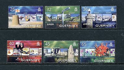GUERNSEY   MNH   832-37    Europa   Vacations       EE890