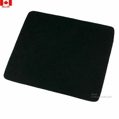 1-2 PCS*Gaming Mouse Pad Mat for PC Laptop Black Universal Quality 215X175X2.5MM
