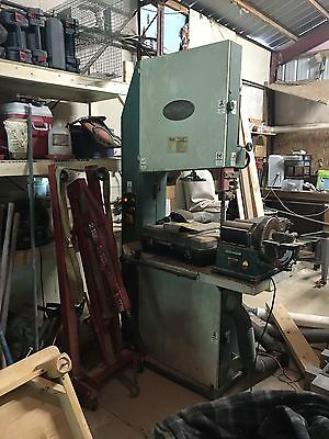"""26.5"""" Grizzly Resaw Band Saw. 7.5 Hp 220 Volt Single Phase Power and 1 hp feeder"""