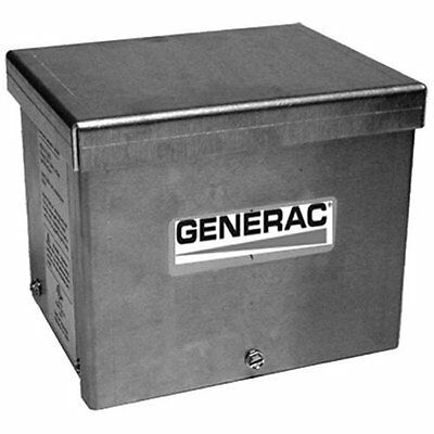 Brand New Generac 6342 20-Amp 125/250V Raintight Aluminum Power Inlet Box