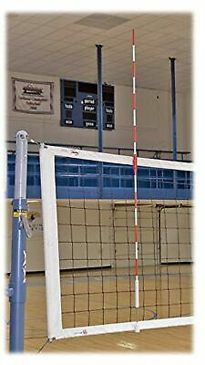 New Tandem Sport Volleyball Clamp On Antennae Fits Both 36-Inch and 1 Meter Net