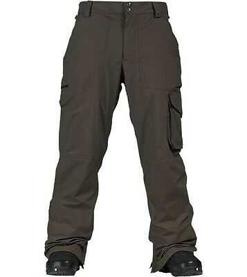 Burton The White Collection SMUGGLER Pant -True Black - Mens Size Large