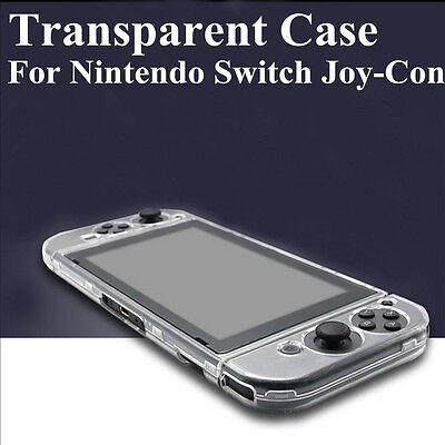 Transparent Hard Protective Case Cover Skin Sleeve For Nintendo Switch Console