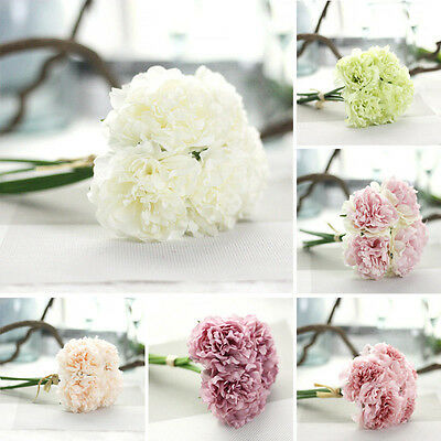 Fake Artificial Silk Peony Flowers Bridal Hydrangea Party Wedding Decoration