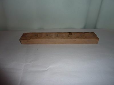 Vintage Wooden Mould Chinese  Mold