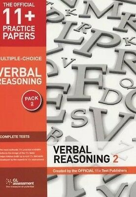 11+ Practice Papers Verbal Reasoning Pack 2 GL Assessment Pamphlet 9780708720493