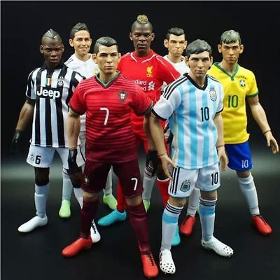 All KODOXO 12 inches 1/6 Foolball Soccer Action Figures Teams World cup UEFA