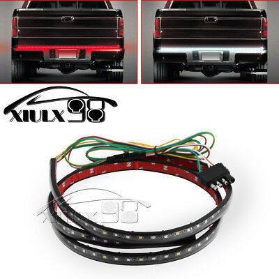 "60"" 5-Function Rear Tailgate Brake Signal Light Bar LED Strip Pickup Truck SUV"