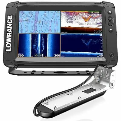 Lowrance Elite-9 Ti  fishfinder/chartplotter with Med/High/TotalScan Transducer