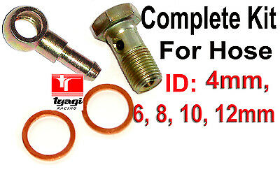 Banjo Bolt Banjo Fitting KIT Brake Line fitting Fuel Hose Fittings Hydraulic