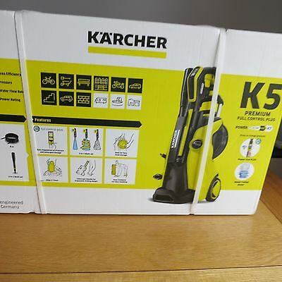 karcher k5 premium full control plus pressure washer new picclick uk. Black Bedroom Furniture Sets. Home Design Ideas