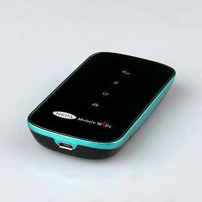 Fast 3G Wifi 7.2Mbs Wireless Router Modem Mifi Mobile Hotspot with SIM Card Slot