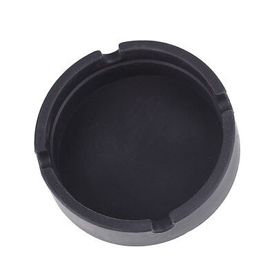 Eco-Friendly Ashtray Silicone Heat Resistance Shatterproof Smokeless Gifts