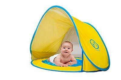 Veles Baby Beach Pop Up Tent with Kiddie Pool, UV Protection Tent Sun Shelter