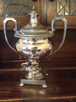 silver plated Samover c1905 Frank Cobb & co