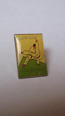 Pin's judo club de Saint Georges sur Cher (époxy)