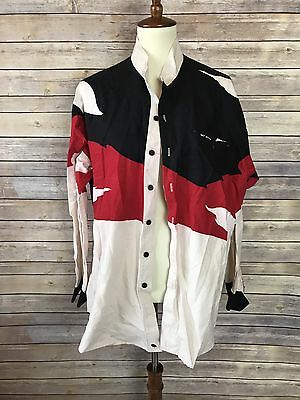 Mo Betta Vintage Okla Opry Garth Brooks Black Red White Rodeo Western Shirt MA19