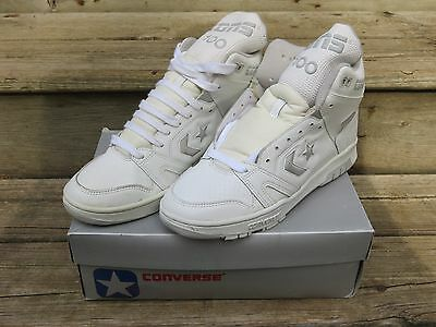Vintage NOS Converse Cons 100 HI-Top Basketball Mens 80s Shoes Sneakers  sz 8