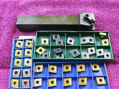 Dorian Tool Turning Tool Holder MCLNL16-4D AND 37 INSERTS