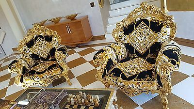 Italian Versace chairs