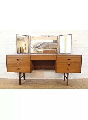 Vintage Dressing Table, Alfred Cox, Mid Century, 1960s, G Plan Style
