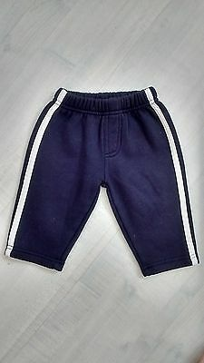 Boys Baby Mac Navy Jogging Trousers 3-6 months