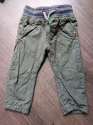 Next boys khaki trousers 6-9 months, great condition