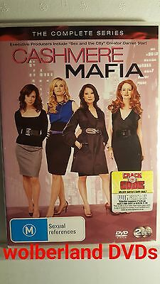 Cashmere Mafia: The Complete Series [ 2 DVD Set ] LIKE NEW, Region 4, FREE Post
