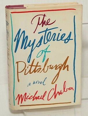 THE MYSTERIES OF PITTSBURGH by Michael Chabon (1988) ~ SIGNED 1st