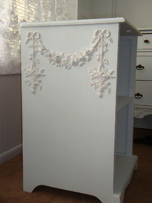 New! Rose Swag & Floral Basket Drops Furniture Applique Architectural Pediment
