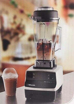 VITAMIX Drink Machine COMMERCIAL BLENDER Two Speed 64OZ CONTAINER 748 Gray
