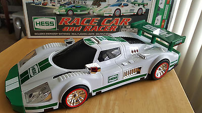 2009 Collector's Edition HESS Toy Race car and Racer With Box Working Condition