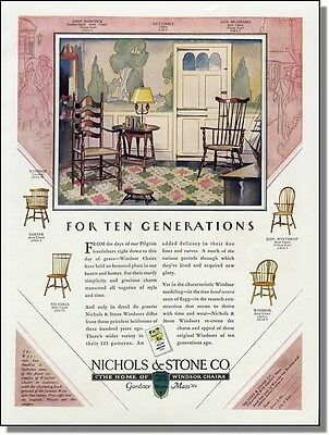 1929 Windsor Chairs Styles & Model Numbers  Print-Ad