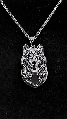 "Akita Dog - Necklace, Pendant  18"" chain"