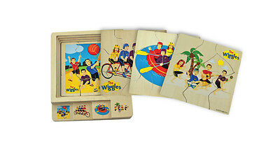 NEW Discoveroo - The Wiggles Four in One Layer Puzzle