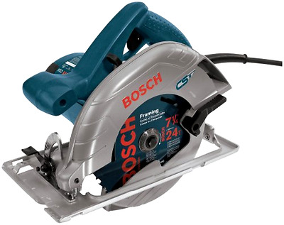 Circular Saw 120V 7 1/4 Inch with Left Blade Design and Anti Snag Lower Guard