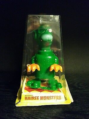 DURHAM JAPAN WIND-UP HAIREE MONSTERS TOY working RARE VINTAGE
