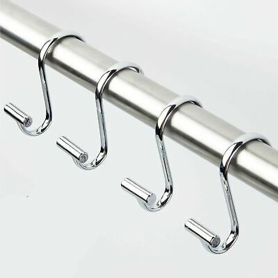 INTERDESIGN 76870 BASIC SHOWER CURTAIN HOOK SET OF 12