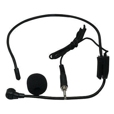 Vocal Wired Headset Microphone for Voice Amplifier Speaker Wireless System Clear