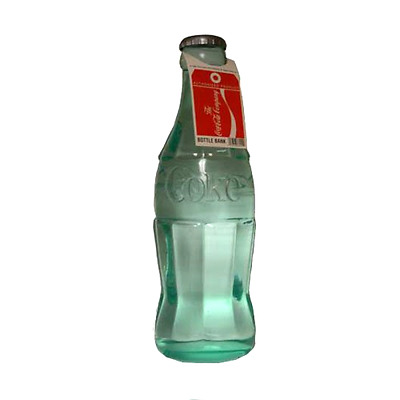 Classic Coca Cola Bottle Bank Model Great for College Students 24 Inches Tall