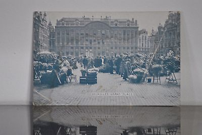 Carte Postale Grand Place Bruxelles En 1909
